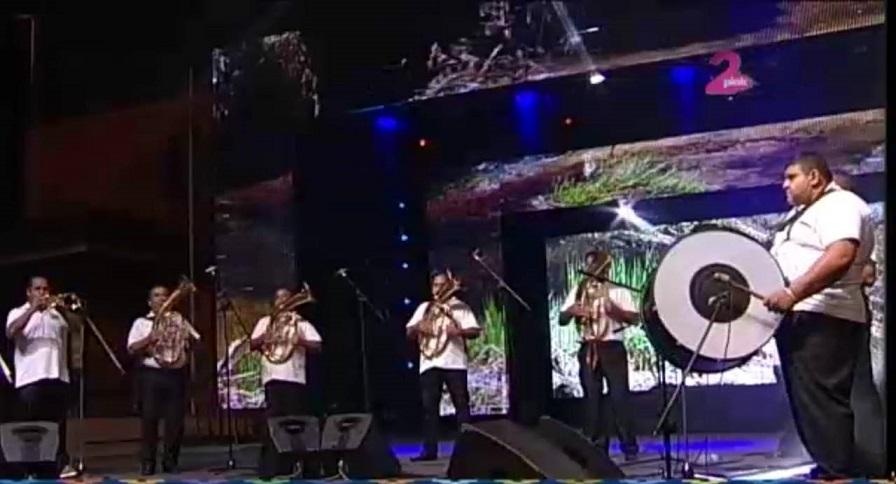 Trubači Balkanika na koncertu na TV Pink2