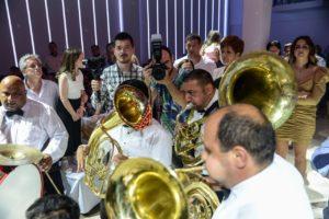 Trubački orkestar na svadbenom veselju